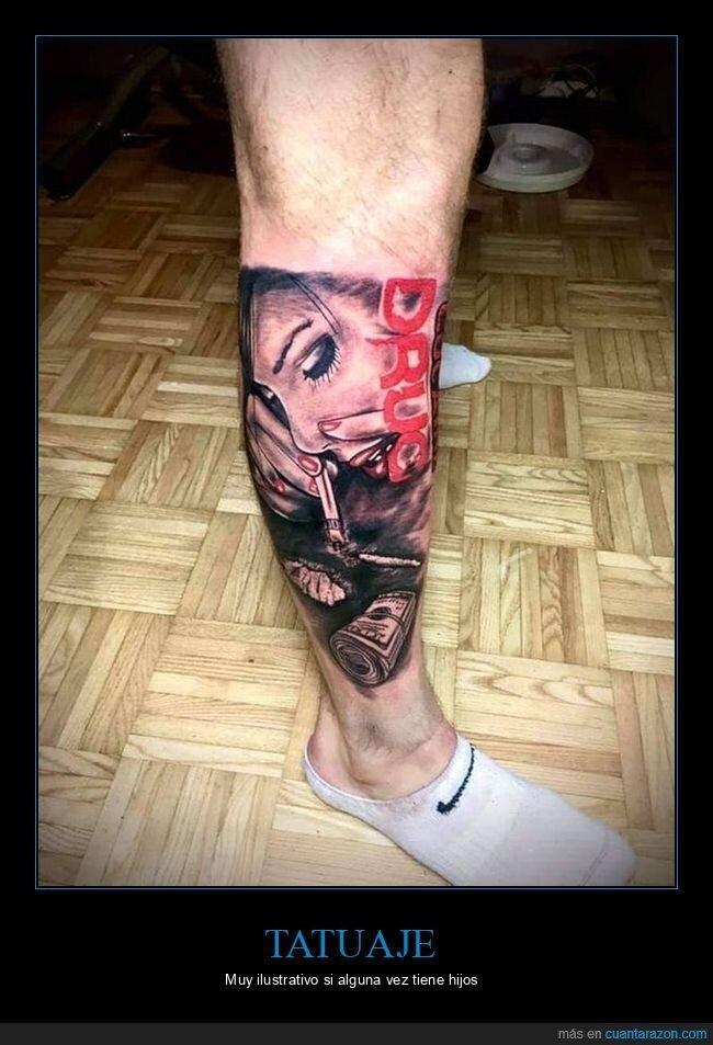 drogas,tatuaje