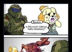 Enlace a Violencia justificada