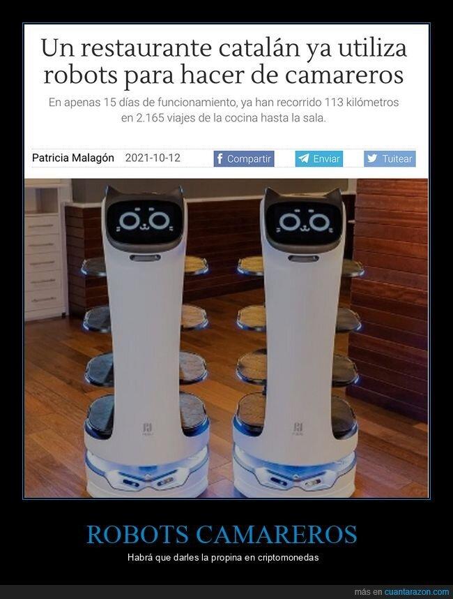 restaurante,robots