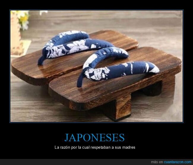 japoneses,madres,respetar,sandalias