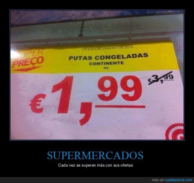 carteles,congeladas,supermercado,wtf