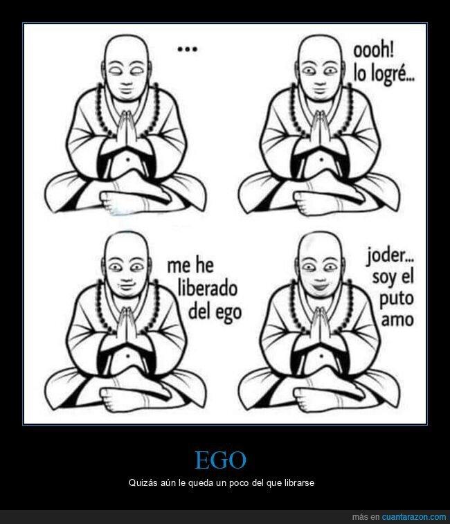 budista,ego,liberarse