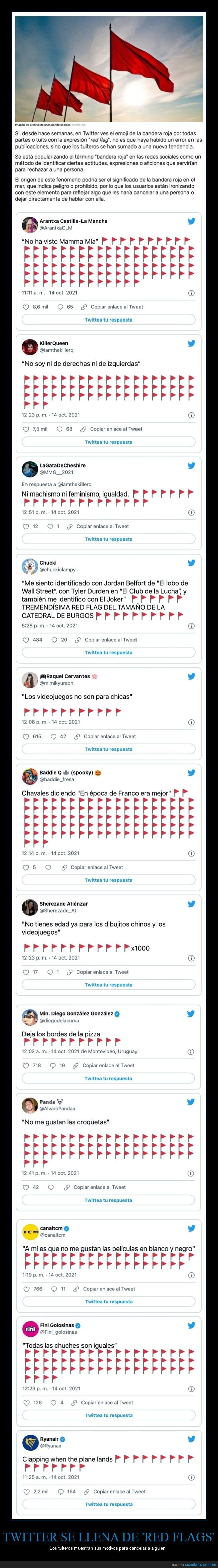 cancelar,red flags,twitter