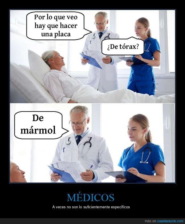 mármol,médico,placa,tórax
