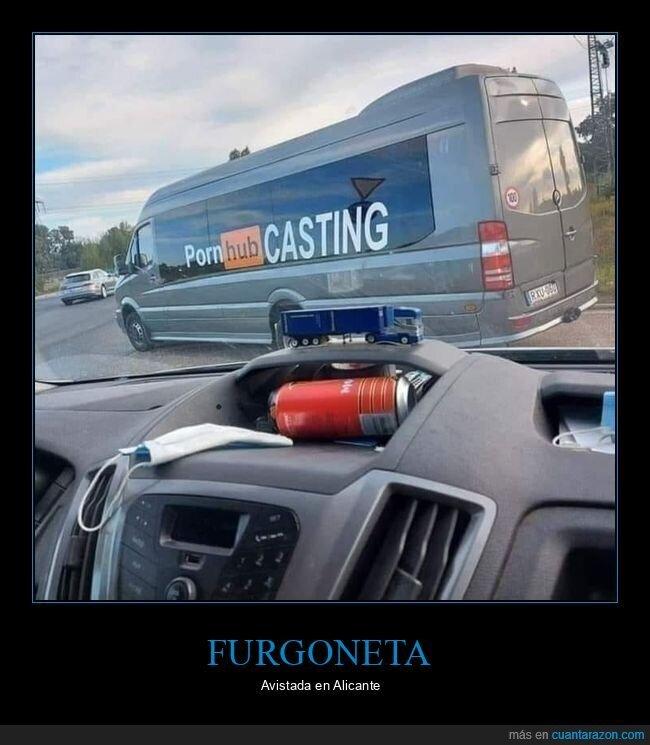 casting,furgoneta