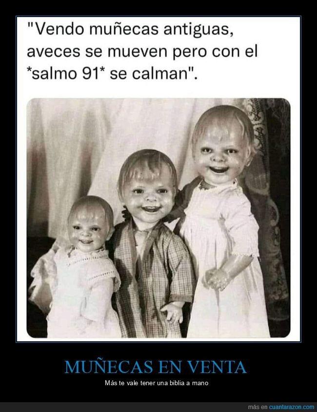 miedo,muñecas