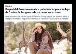 Enlace a Raquel del Rosario, cantante de