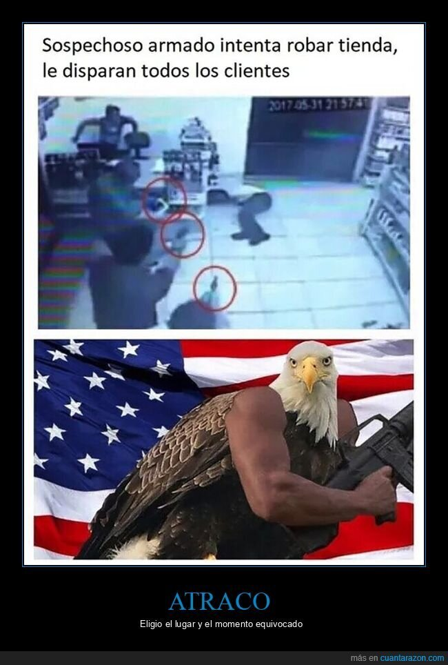 clientes,disparar,robar,tienda