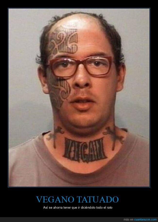tatuaje,vegano