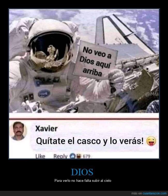 astronauta,casco,dios,ver