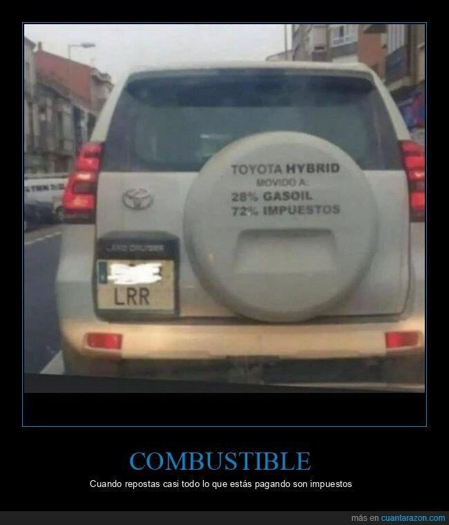 coche,gasoul,impuestos