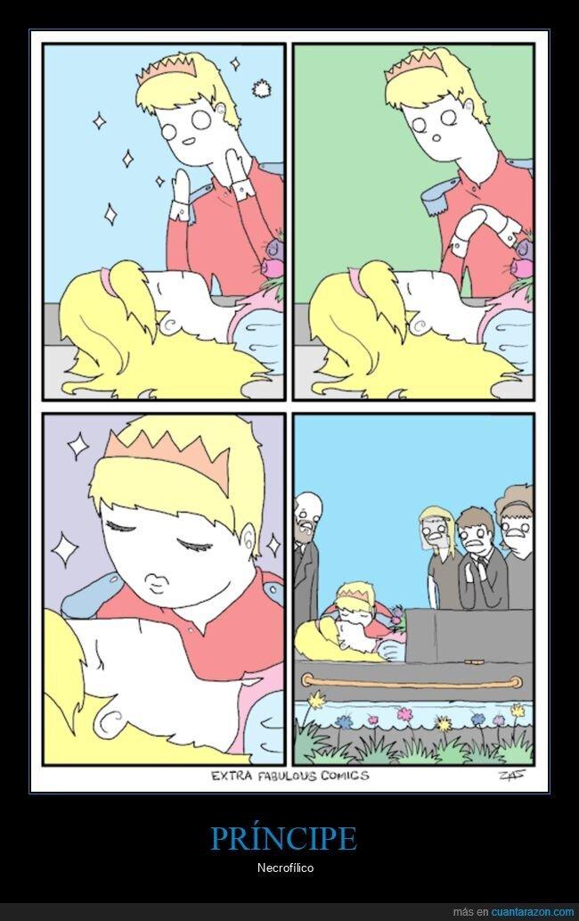beso,funeral,muerta,príncipe