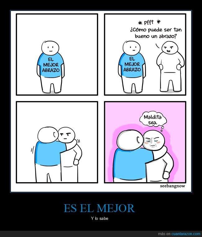 abrazo,mejor