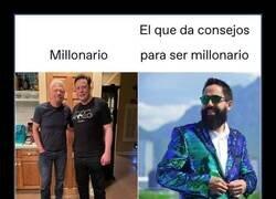 Enlace a El aspecto de los auténticos millonarios