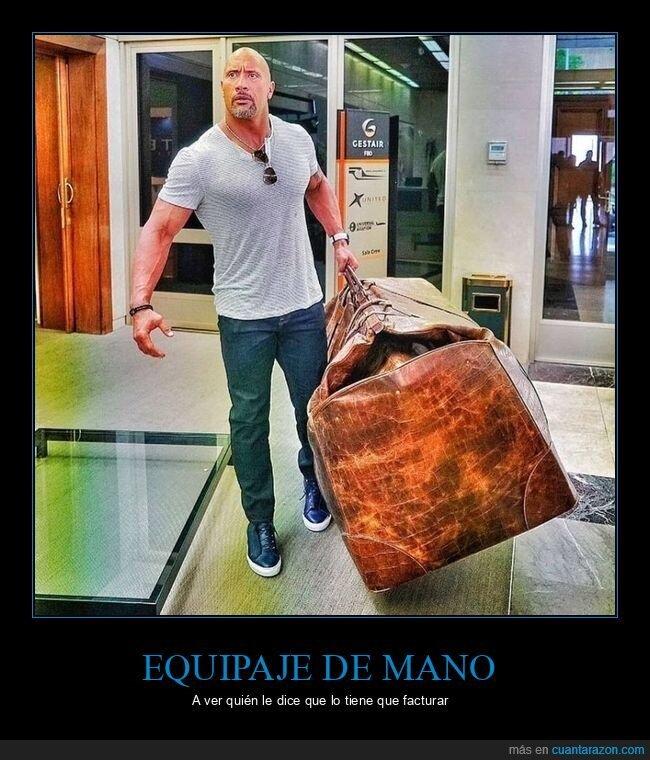 equipaje,maleta,the rock