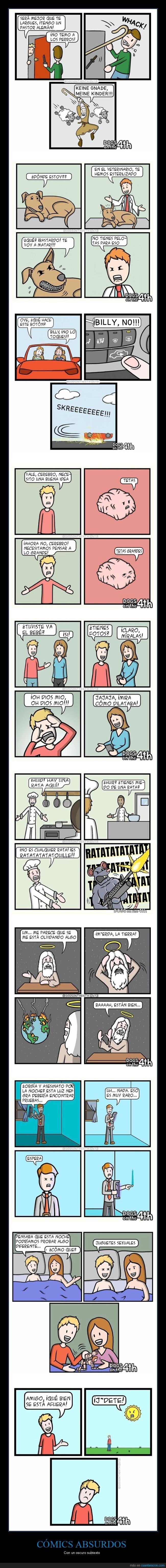 cómics absurdos,elliott fairweather