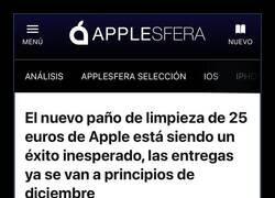 Enlace a Otro éxito de Apple