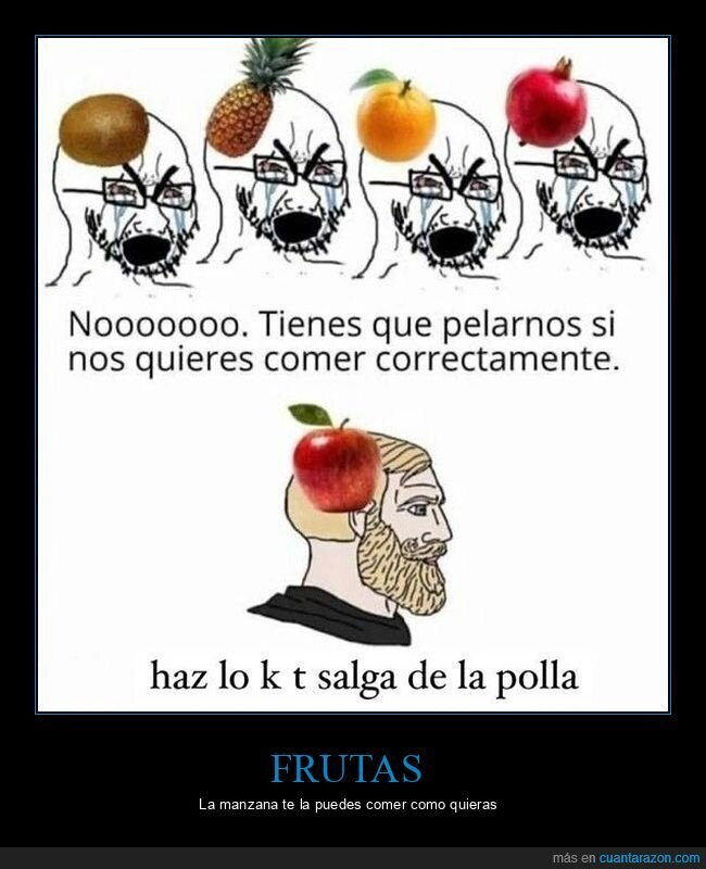frutas,manzana,pelar