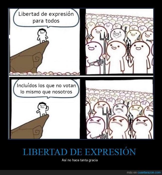libertad de expresión,votar