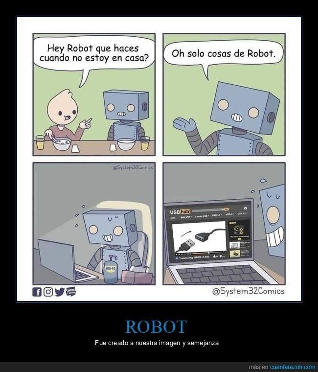 casa,robot,solo