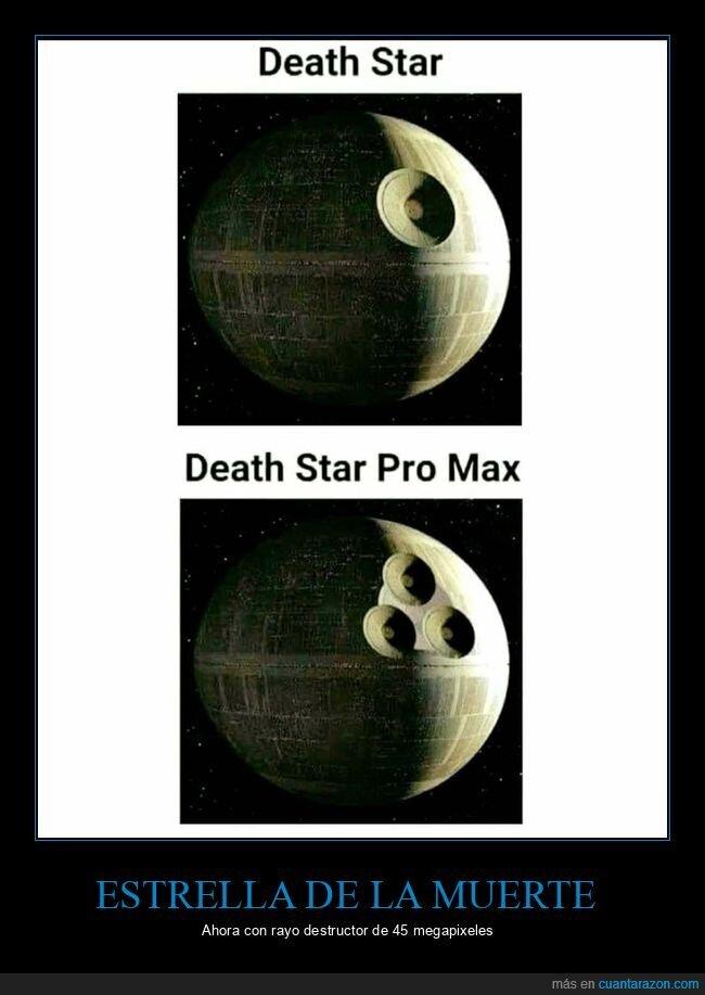 estrella de la muerte,pro max,star wars