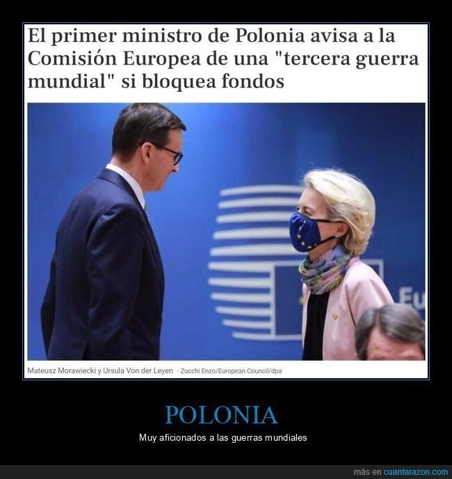 bloquear,europa,fondos,iii guerra mundial,polonia