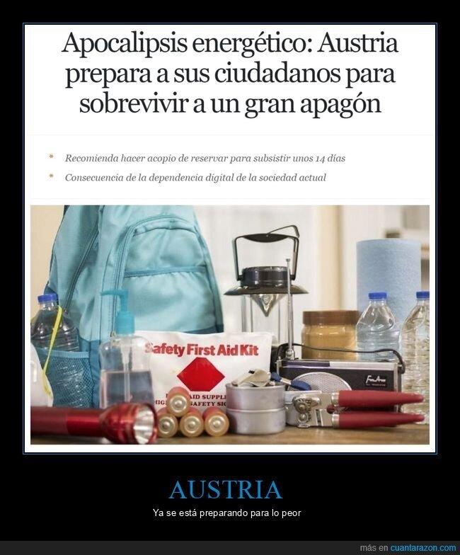 apagón,apocalipsis energético,austria