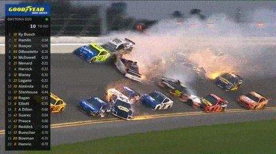 Enlace a Las carreras de Daytona pueden llegar a ser una auténtica locura