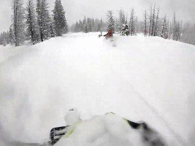 Enlace a Cuando la nieve literalmente se come tu moto