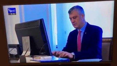 Enlace a La previsible contraseña del ordenador de un político