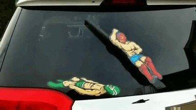 Enlace a El mejor complemento para el coche que pueder tener un fan de la WWE