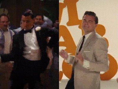 Enlace a La evolución de los bailes de DiCaprio a lo largo de los años