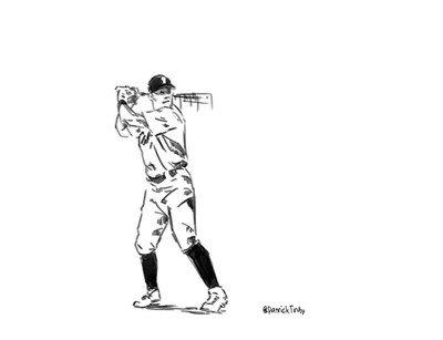 Enlace a Esta animación de un bateador es simplemente alucinante