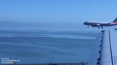 Enlace a ¿Alguna vez habías visto dos aviones aterrizando a la vez?