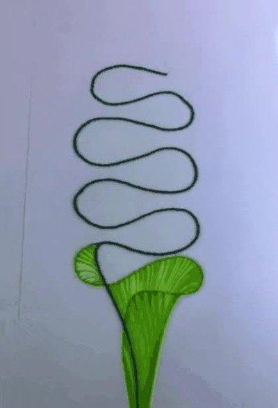 Enlace a Se puede hacer arte utilizando una cuerda