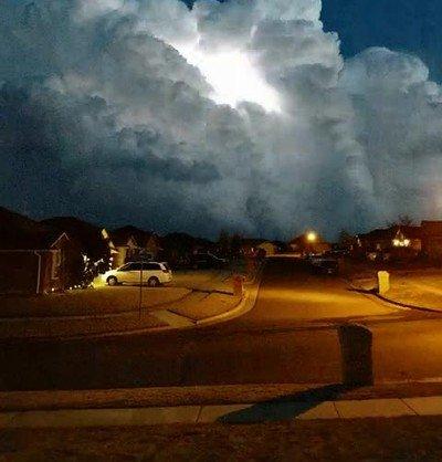 Ver tormentas desde la comodidad de tu casa es maravilloso