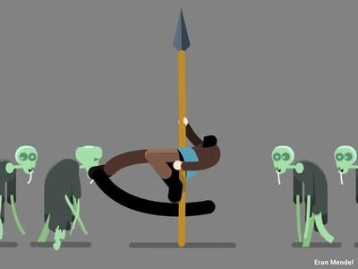 Enlace a Truco para acabar con una horda de zombies