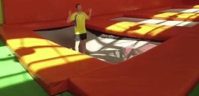 Enlace a Los peligros de hacer demasiados saltos en la colchoneta