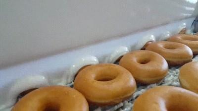 Enlace a Necesito trabajar en la fábrica de donuts