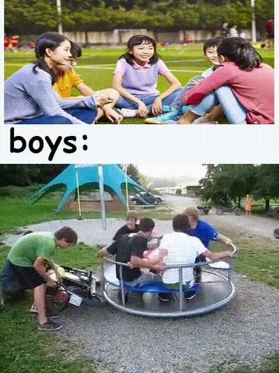 Enlace a Diferencia entre chicos y chicas