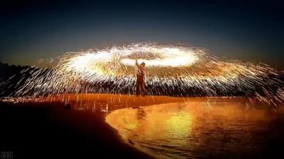 Enlace a Nunca me cansaré de ver fuegos artificiales en la playa