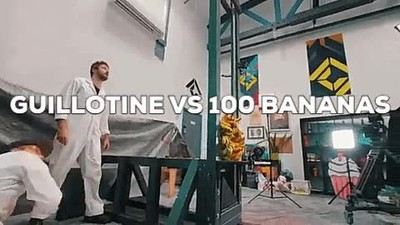 Enlace a Guillotina VS 100 Bananas