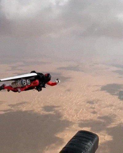 Enlace a Hola Jetman, te deseo que pases buen día y tengas un genial viaje