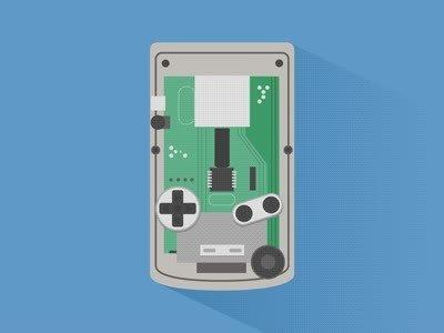 Enlace a Animación del proceso de creación de una Game Boy Color