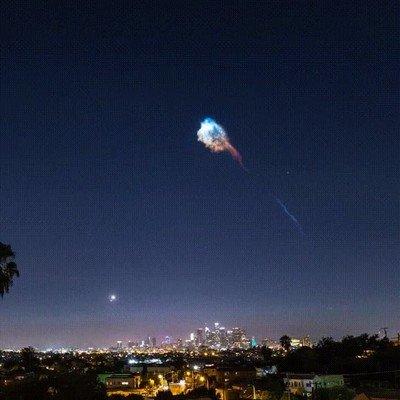 Enlace a El lanzamiento del Falcon 9 es lo más épico que verás nunca