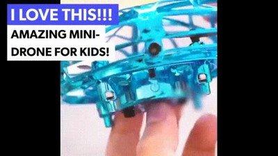 Enlace a Un dron con el que pueden jugar los nlños sin miedo a romperlo