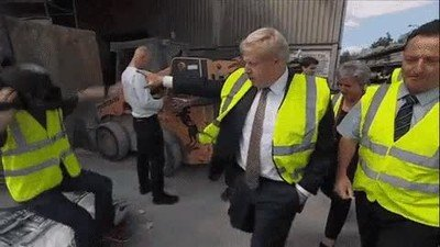 Enlace a Boris Johnson demuestra tener poderes
