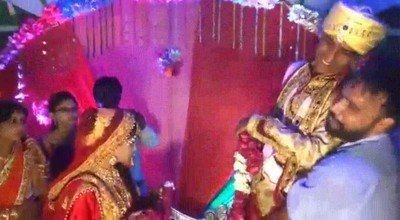 Enlace a Estaba siendo una maravillosa boda cuando de repente...