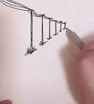 Enlace a Ojalá saber dibujar tan bien...