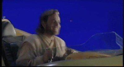 Enlace a Cuando te enteras que Ewan McGregor volverá a ser Obi Wan en una serie de Disney+